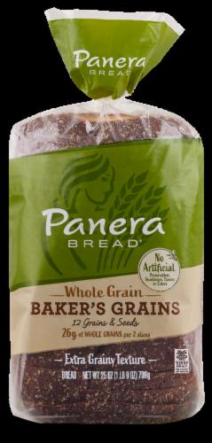 Panera Bread Whole Grain Baker's Grains Sliced Bread Perspective: front
