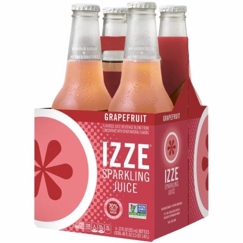 IZZE Sparkling Juice Drink Grapefruit Flavored Juice Drink Perspective: front