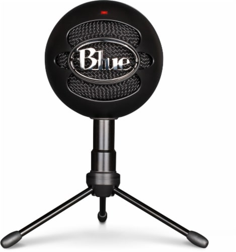 Blue Snowball Ice USB Microphone - Black Perspective: front