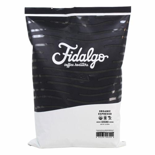 Organic Espresso, Drip Grind, 2lb bag Perspective: front