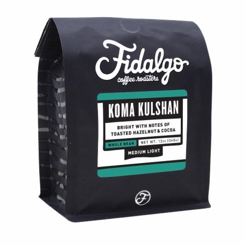 Organic Koma Kulshan, Whole Bean, 12oz bag Perspective: front
