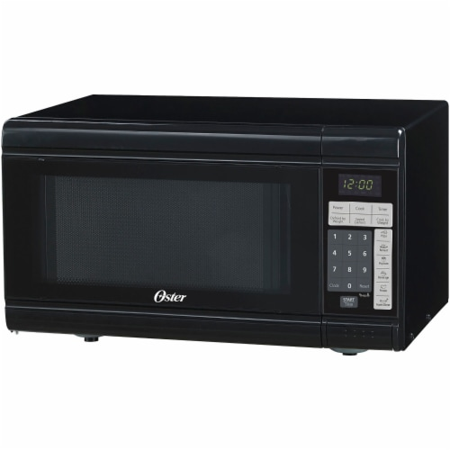 Oster® Countertop Microwave Oven - Black Perspective: front