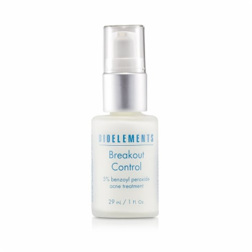 Bioelements Breakout Control  5% Benzoyl Peroxide Acne Treatment Perspective: front