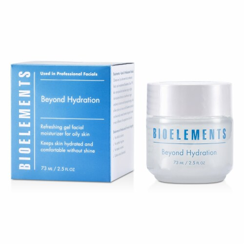 Bioelements Beyond Hydration Refreshing Gel Facial Moisturizer  For Oily, Very Oily Skin Type Perspective: front