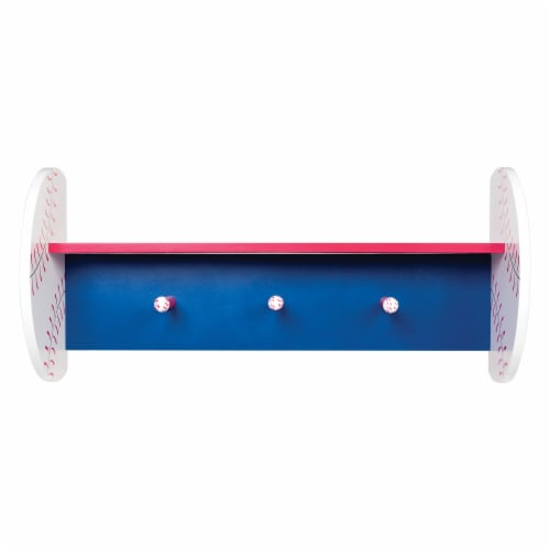 Trend Lab Baseball Wall Shelf Perspective: front
