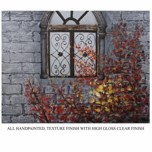 Saltoro Sherpi Enthralling Window Oil Painting by Entrada by Entrada Perspective: front