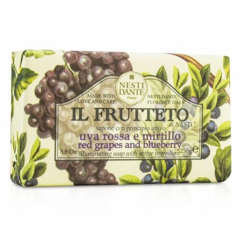 Nesti Dante Il Frutteto Illuminating Soap  Red Grapes & Blueberry 250g/8.8oz Perspective: front