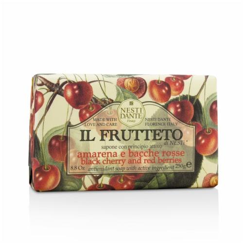Nesti Dante Il Frutteto Antioxidant Soap  Black Cherry & Red Berries 250g/8.8oz Perspective: front