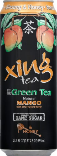 Xing Green Tea With Mango & Honey Perspective: front