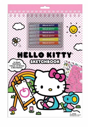 Hello Kitty Sketchbook Perspective: front