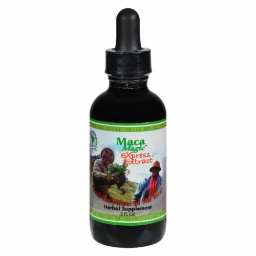 Maca Magic Express Extract Perspective: front