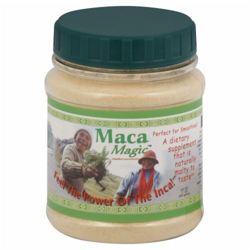 Maca Magic Root Raw Powder Perspective: front