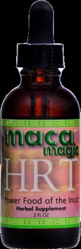 Maca Magic HRT Power Food Supplement Perspective: front