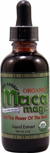 Maca Magic  Organic Maca Magic Liquid Extract Perspective: front