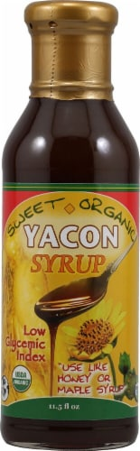 Amazon Therapeutic Labs Organic Yacon Syrup Perspective: front