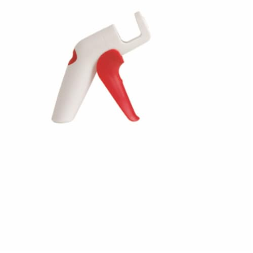 Chef N 6406540 QuickPit Cherry & Olive Pitter  Plastic - Red & White Perspective: front
