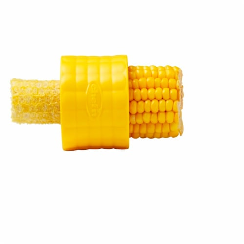 Chef'n Corn Cob Stripper - Yellow Perspective: front