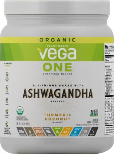 Vega Organic One Botanical Blends US Turmeric Coconut Perspective: front