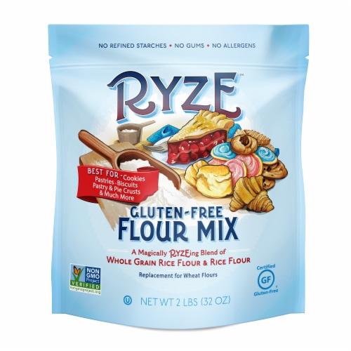 Ryze Gluten-Free Whole Grain Rice Flour Flour Mix Perspective: front