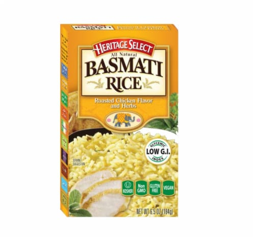 Heritage Select Roasted Chicken & Herbs Basmati Rice Perspective: front