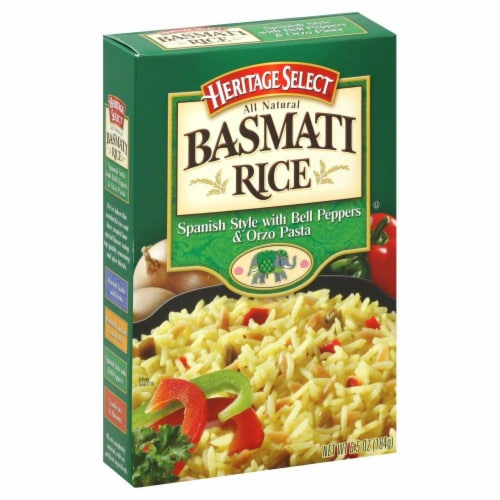 Heritage Select Spanish Style with Bell Peppers Basmati Rice Perspective: front