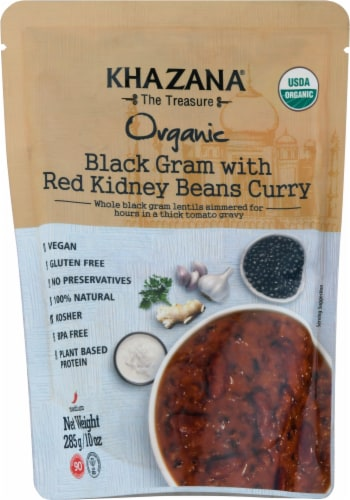Khazana Organic Black Gram with Red Kidney Beans Curry Perspective: front