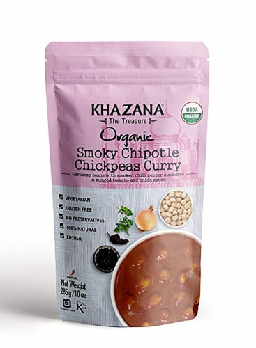 Khazana Organic Smoky Chipolte Chickpeas Curry Perspective: front