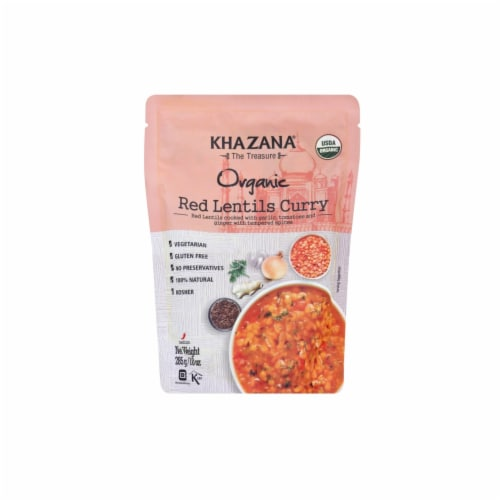 Khazana Organic Red Lentils Curry Perspective: front