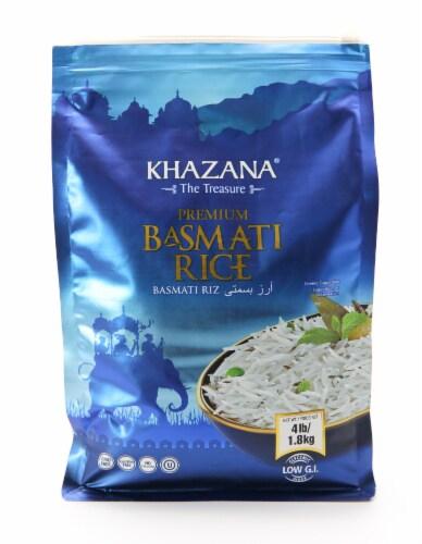 Khazana® Premium Basmati Rice Perspective: front