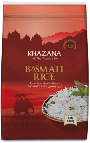 Khazana Ultra Extra-Long Basmati Rice Perspective: front