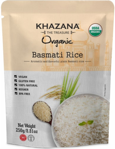 Khazana® Organic Basmati Rice Perspective: front