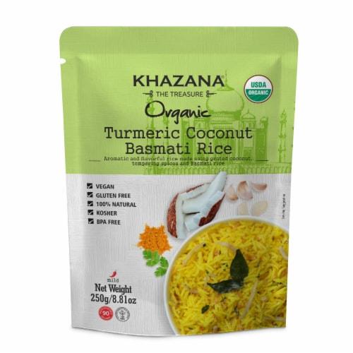 Khazana® Organic Turmeric Coconut Basmati Rice Perspective: front