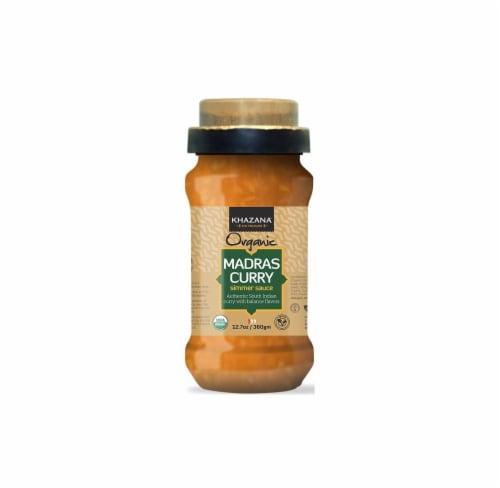 Khazana Organic Madras Curry Simmer Sauce Perspective: front