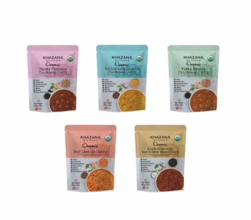 Khazana Organic Ready to Eat Variety Pack Perspective: front