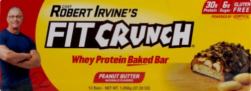 Fitcrunch  Bar   Peanut Butter Perspective: front