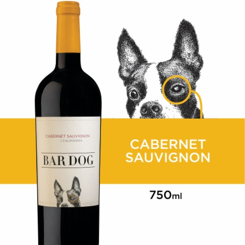 Bar Dog Cabernet Sauvignon Red Wine Perspective: front