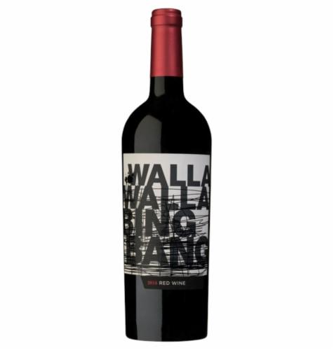 Walla Walla Bing Bang Red Blend Perspective: front