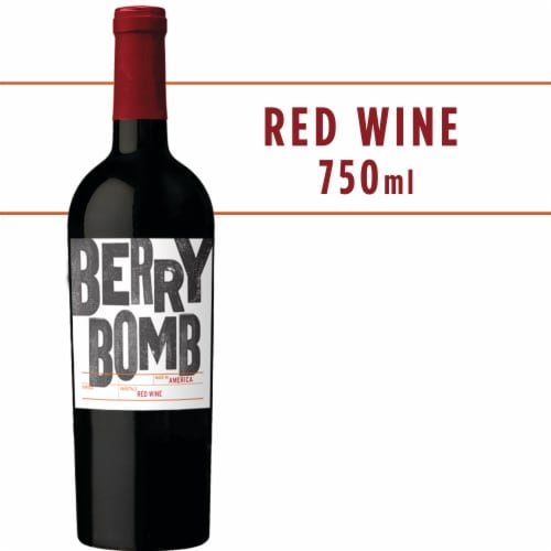 Berry Bomb Red Blend Wine Perspective: front