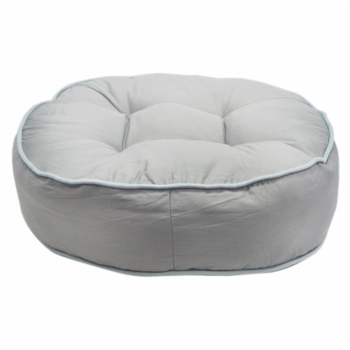 Wild Dove Pouf Pet Bed by Pet Maison for Unisex - 27 x 8 Inch Pet Bed Perspective: front