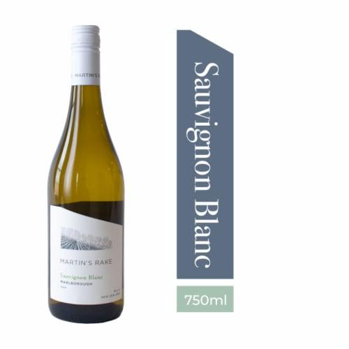 Martin's Rake Sauvignon Blanc Perspective: front