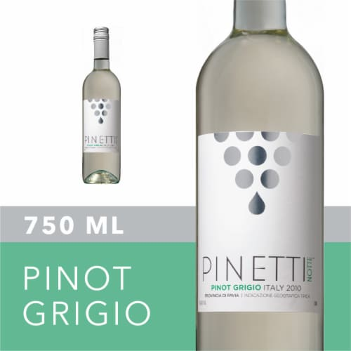 Pinetti Notte Pinot Grigio Perspective: front