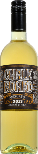 Chalkboard Moscato Perspective: front