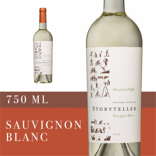 Storyteller Sauvignon Blanc Perspective: front