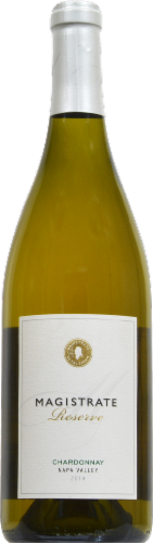 Magistrate Reserve Napa Valley Chardonnay Perspective: front