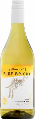 Yellow Tail Pure Bright Chardonnay Perspective: front