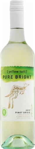 Yellow Tail Pure Bright Pinot Grigio Perspective: front