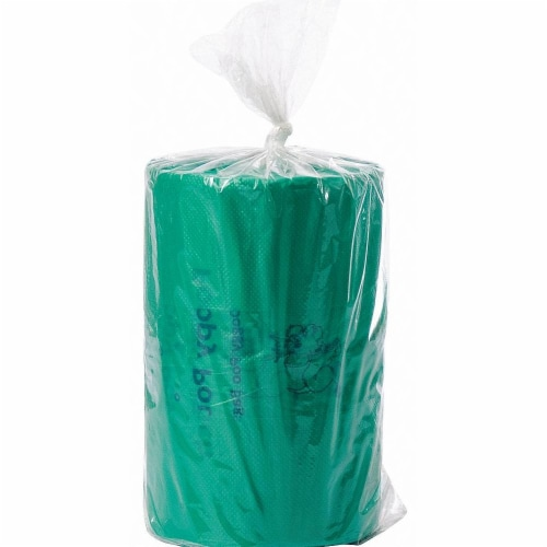 Poopy Pouch Pet Waste Bag,3/4 gal.,PK2400  SD-6-400 Perspective: front