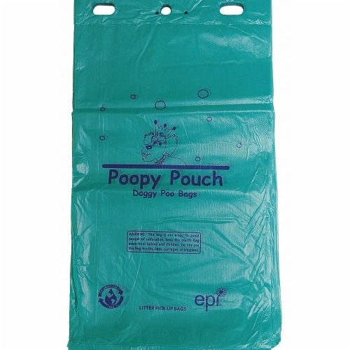 Poopy Pouch Pet Waste Bag,1 gal.,PK12  PP-H-200 Perspective: front