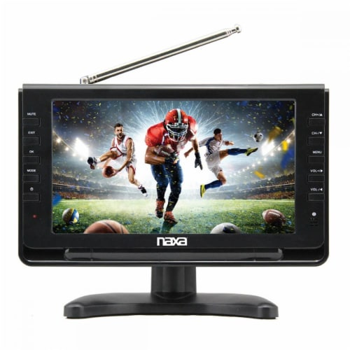 Naxa Nt-110 10in Portable Tv Media Player Perspective: front