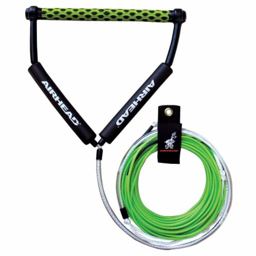 Airhead Spectra Thermal Wakeboard Rope 70 Ft 4 Section Boat Lake Tow (12 Pack) Perspective: front